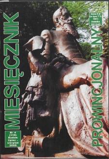 Miesięcznik Prowincjonalny, 2009, R. 11, nr 4