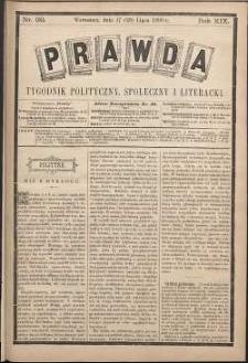 Prawda : tygodnik polityczny, społeczny i literacki, 1899, R. 19, nr 30