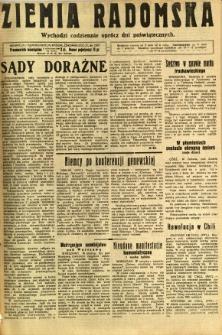 Ziemia Radomska, 1931, R. 4, nr 205