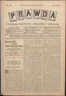 Prawda : tygodnik polityczny, społeczny i literacki, 1897, R. 17, nr 20