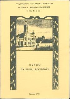 Radom na starej pocztówce