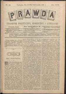 Prawda : tygodnik polityczny, społeczny i literacki, 1897, R. 17, nr 44