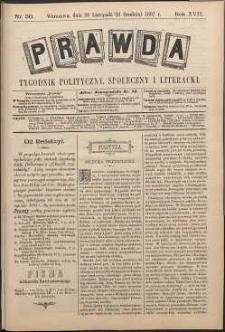 Prawda : tygodnik polityczny, społeczny i literacki, 1897, R. 17, nr 50