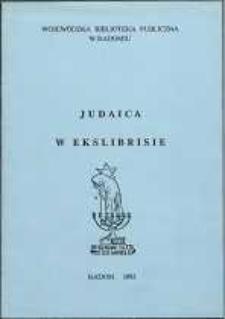 Judaica w ekslibrisie