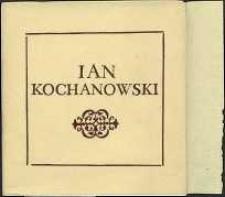 Jan Kochanowski 1530-1584 Exlibis : Prace nagrodzone i wyróżnione w Ogólnopolskim Konkursie