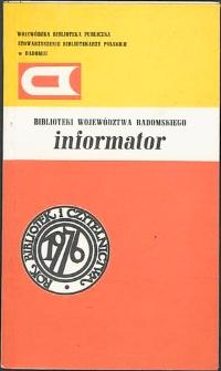 Biblioteki Województwa Radomskiego : Informator