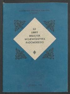 Ex librisy bibliotek województwa radomskiego