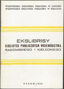 Ekslibrisy bibliotek publicznych województwa radomskiego i kieleckiego