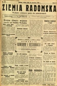 Ziemia Radomska, 1931, R. 4, nr 221