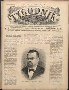 Tygodnik Ilustrowany, 1888, T. 11, nr 278