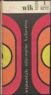 Wojewódzki Informator Kulturalny Radom, 1977, nr 1