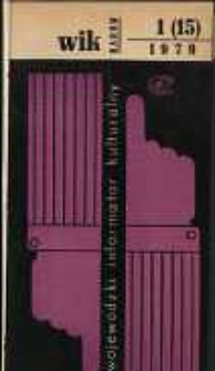 Wojewódzki Informator Kulturalny Radom, 1979, nr 1