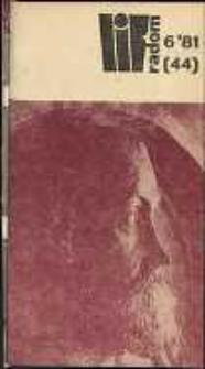 Wojewódzki Informator Kulturalny Radom, 1981, nr 6