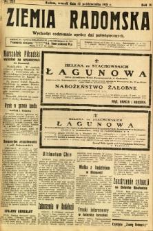 Ziemia Radomska, 1931, R. 4, nr 235