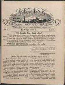 Brzask : Radomski Tygodnik Obrazkowy, 1916, R. 1, nr 7