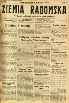 Ziemia Radomska, 1931, R. 4, nr 238