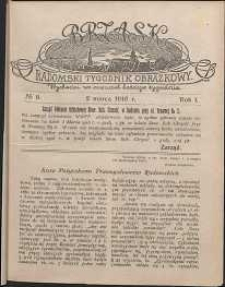 Brzask : Radomski Tygodnik Obrazkowy, 1916, R. 1, nr 9
