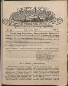 Brzask : Radomski Tygodnik Obrazkowy, 1916, R. 1, nr 12