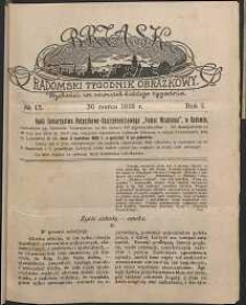 Brzask : Radomski Tygodnik Obrazkowy, 1916, R. 1, nr 13
