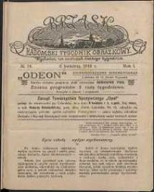Brzask : Radomski Tygodnik Obrazkowy, 1916, R. 1, nr 14