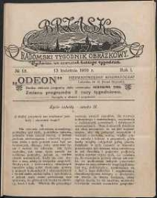 Brzask : Radomski Tygodnik Obrazkowy, 1916, R. 1, nr 15