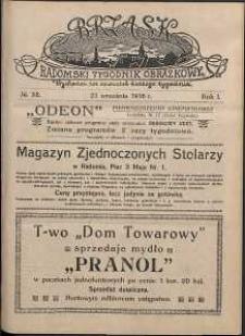 Brzask : Radomski Tygodnik Obrazkowy, 1916, R. 1, nr 38