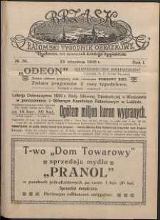 Brzask : Radomski Tygodnik Obrazkowy, 1916, R. 1, nr 39