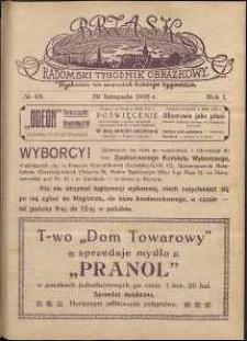 Brzask : Radomski Tygodnik Obrazkowy, 1916, R. 1, nr 48