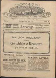 Brzask : Radomski Tygodnik Obrazkowy, 1917, R. 2, nr 3