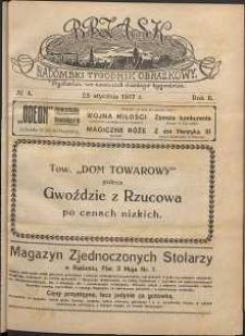 Brzask : Radomski Tygodnik Obrazkowy, 1917, R. 2, nr 4