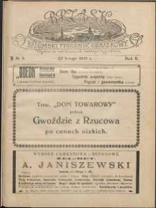 Brzask : Radomski Tygodnik Obrazkowy, 1917, R. 2, nr 8