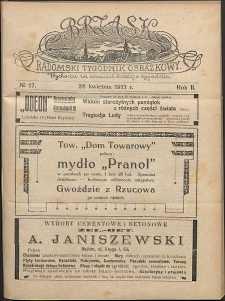 Brzask : Radomski Tygodnik Obrazkowy, 1917, R. 2, nr 17