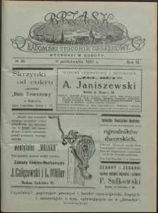 Brzask : Radomski Tygodnik Obrazkowy, 1917, R. 2, nr 28
