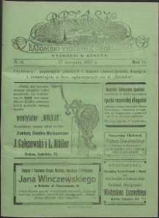 Brzask : Radomski Tygodnik Obrazkowy, 1917, R. 2, nr 34