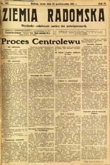 Ziemia Radomska, 1931, R. 4, nr 248