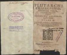 Vitarum Parallerarum seu Comparatum. T.2