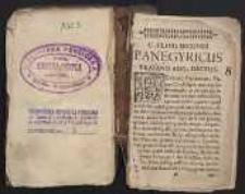 Panegyricus Traiano Aug. Dictus
