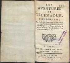 Les aventures de Telemaque, fils de Ulysse