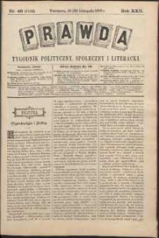 Prawda : tygodnik polityczny, społeczny i literacki, 1902, R. 22, nr 48