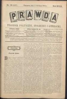 Prawda : tygodnik polityczny, społeczny i literacki, 1903, R. 23, nr 29