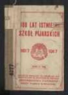 300 lat istnienia szkół pijarskich : 1617-1917