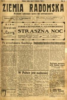 Ziemia Radomska, 1932, R. 5, nr 4