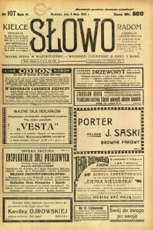 Słowo, 1923, R. 2, nr 107