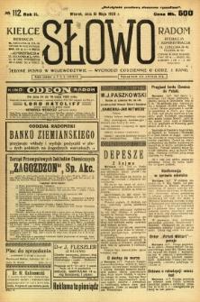 Słowo, 1923, R. 2, nr 112
