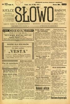 Słowo, 1923, R. 2, nr 113