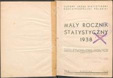 Mały Rocznik Statystyczny R. 9 (1938)