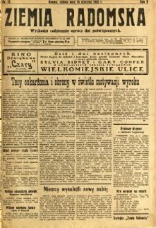 Ziemia Radomska, 1932, R. 5, nr 12