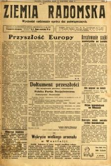 Ziemia Radomska, 1932, R. 5, nr 13