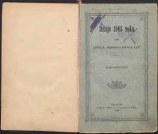 Dzieje 1863 roku T. 1