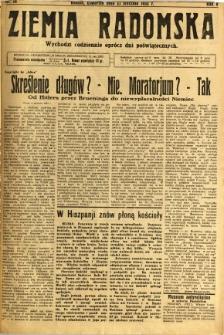 Ziemia Radomska, 1932, R. 5, nr 16
